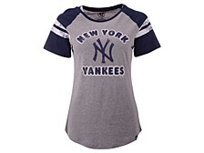 New York Yankees Women's Fly Out Raglan T-shirt