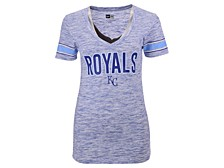 Kansas City Royals Women's Space Dye T-Shirt