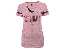 Women's St. Louis Cardinals Space Dye T-Shirt