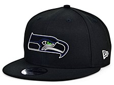 Little Boys Seattle Seahawks Draft 9FIFTY Snapback Cap