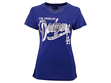 Women's Los Angeles Dodgers Homeplate T-shirt