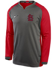 Men's St. Louis Cardinals Authentic Collection Thermal Crew Sweatshirt