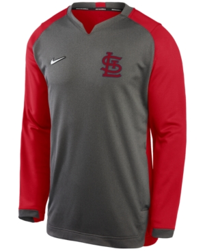 Nike Men's St. Louis Cardinals Authentic Collection Thermal Crew Sweatshirt