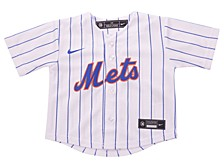 New York Mets Toddler Official Blank Jersey