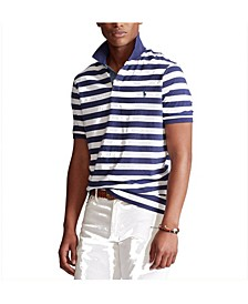 폴로 랄프로렌 Polo Ralph Lauren Mens Classic Fit Striped Jersey Polo Shirt