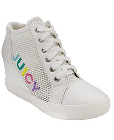 Jump Wedge Sneakers