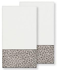 Textiles Spots 2 Piece Bath Towel Set