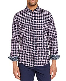 Men's Slim-Fit All Knit Queensland Long Sleeve Shirt