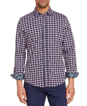Men's Slim-Fit All Knit Queensland Long Sleeve Shirt