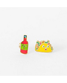 Taco Hot Sauce Earrings