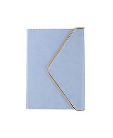 Periwinkle Zippered Hardcover Notebook
