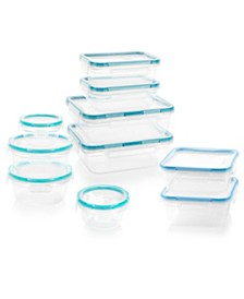 Total Solutions 20-Pc. Food Storage Container Set
