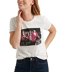 Pink Ladies Graphic Print T-Shirt