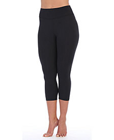 American Fitness Couture High Waist Three-Fourth Compression Leggings