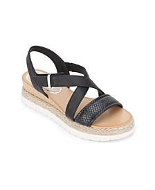 Jules Platform X Band Sandals