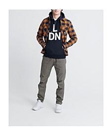 Men's Brand Language City Hooded Sweatshirt