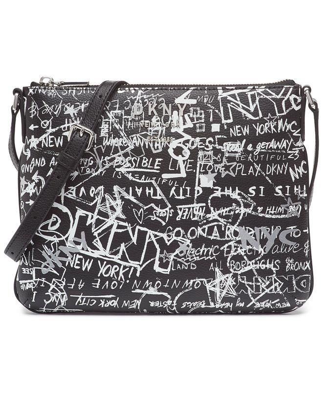 DKNY Erin Graffiti Crossbody