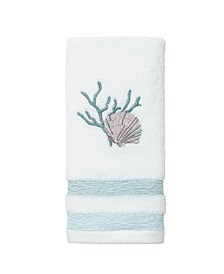 Coastal Terrazzo Fingertip Towel