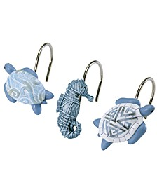 Caicos Shower Hooks, Set of 12