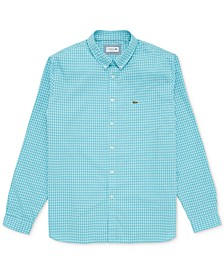 Men's Gingham Pop Shirt