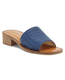 Women's Frijana Block-Heel Slides