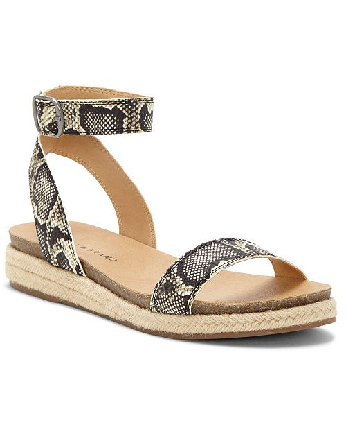 Lucky Brand Women's Garston Footbed Sandals