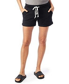 Lounge Burnout French Women's Terry Shorts