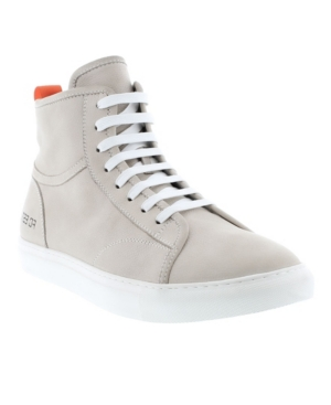 French Connection Men's Bastien High Top Sneaker Men's Shoes In White