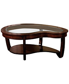 Tunton Dark Cherry Coffee Table