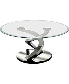 Marisa Glass Top Coffee Table