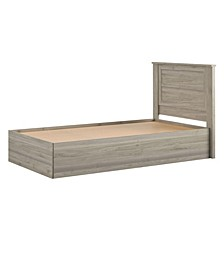 Sierra Ridge Levi Bed with Storage and Twin Headboard, Twin