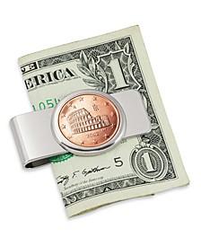 Italian Amphitheatre 5 Cent Euro Coin Money Clip