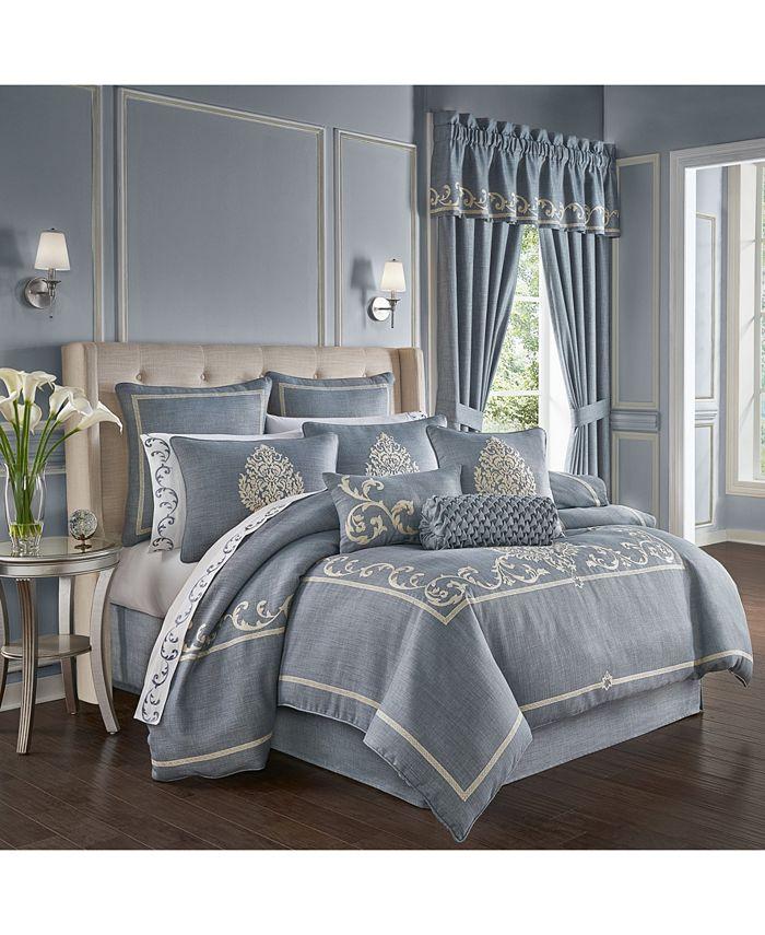 J Queen New York - Aurora King 4Pc. Comforter Set