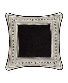 "Annette 20"" Square Decorative Throw Pillow"