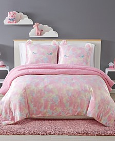 Rainbow Sweetie Full/Queen 3 Piece Comforter Set