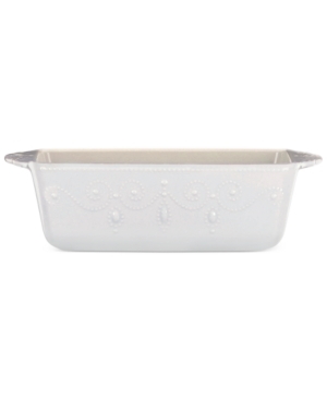 Lenox French Perle Loaf Pan