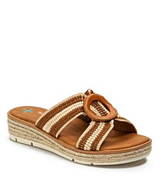 Bliss Posture Plus+ Slip-on Wedge Sandals