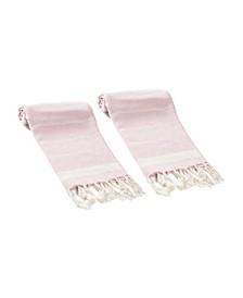 Lena 2 Piece Hand or Kitchen Towel Set