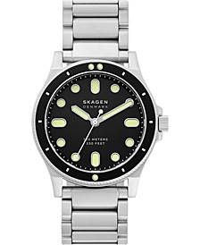 Men's Fisk Stainless Steel Bracelet Watch 42mm