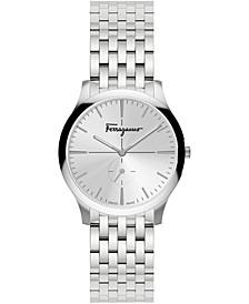 Women's Swiss Slim Formal Stainless Steel Bracelet Watch 35mm
