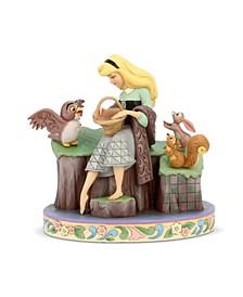 Enesco Sleeping Beauty with Animals Figurine