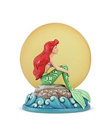 Ariel Sitting On Rock Figurine