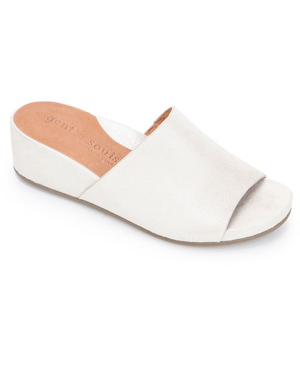 Gentle Souls by Kenneth Cole Women's Gisele Slide Wedges