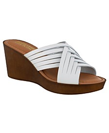 Cat-Italy Women's Wedge Sandals