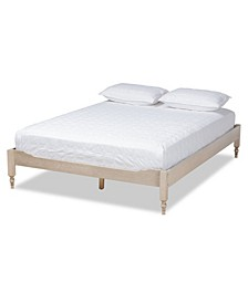 Laure French Bohemian Queen Size Bed Frame