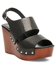 Driiggs Platform Wedge Sandals