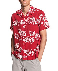 Quiksilver Men's Floral Feelings Shirt