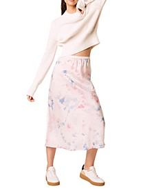 Sadie Tie Dye Slip Skirt