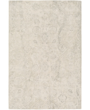 "Surya Wilson Wsn-2301 Charcoal 8'10"" X 12' Area Rug In Gray"