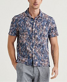 Men's Camp Collar Tropical Shirt